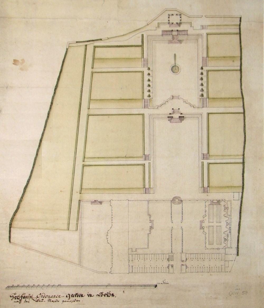 1735 Ordonnanzgarten