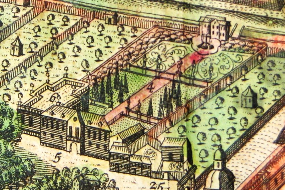 1738 Ordonnanzgarten