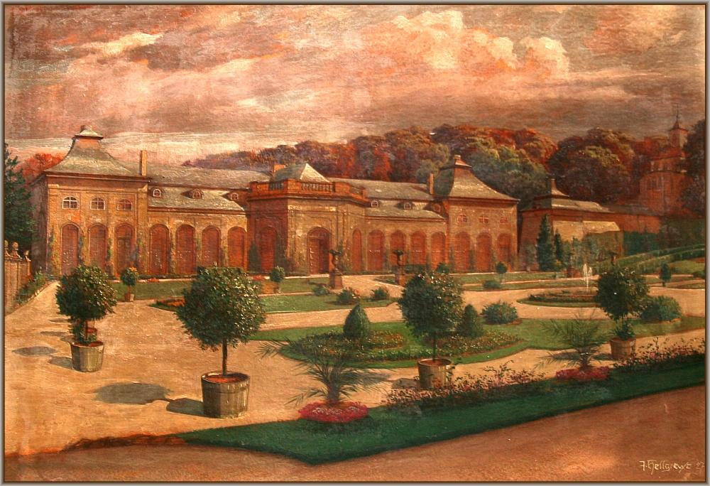1927 Orangerie Gemälde