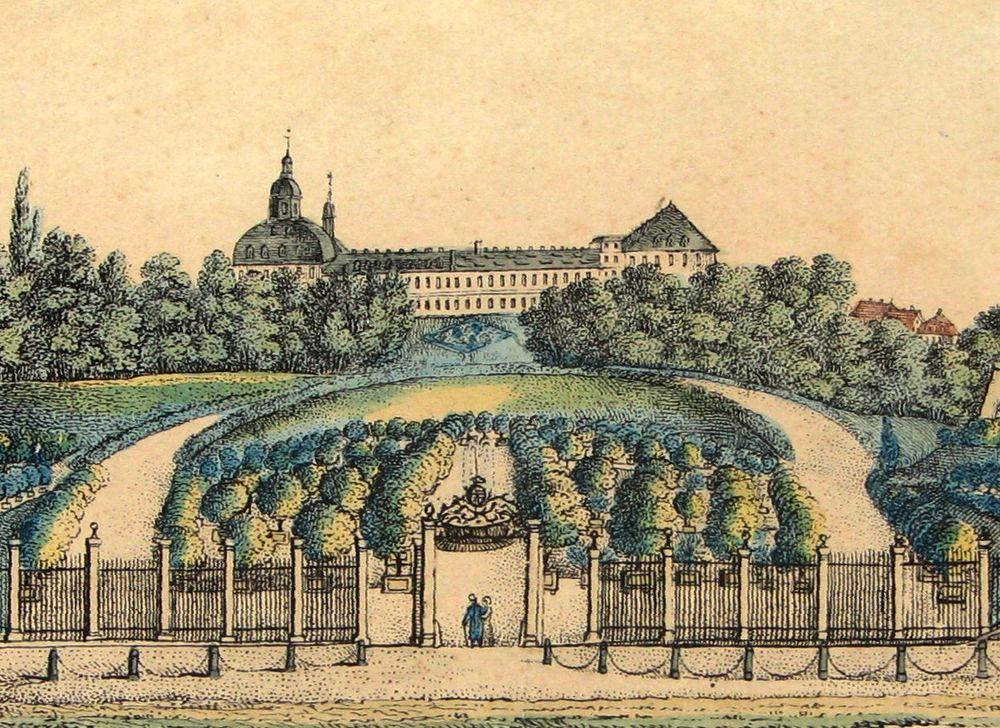 Orangerie um 1800