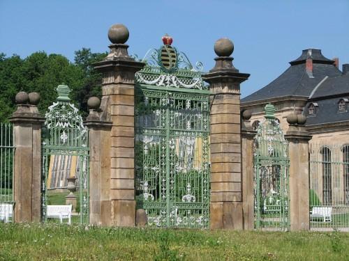 Eingangsportal Orangerie Gotha