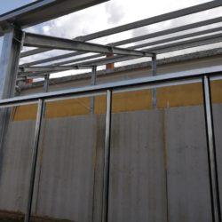 Dachkonstruktion Detail